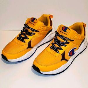 Champion 93eighteen Big C Sneakers Yellow 9.5